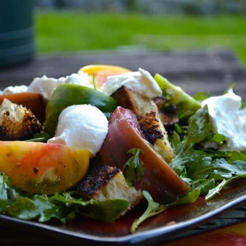 HEIRLOOM TOMATO AND GRILLED BREAD SALAD
