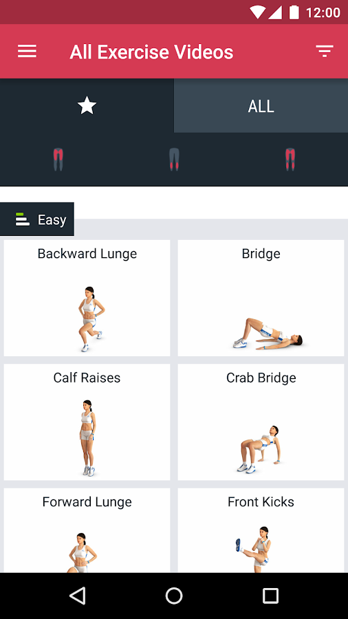 Runtastic Leg Workout Trainer Screenshot 2