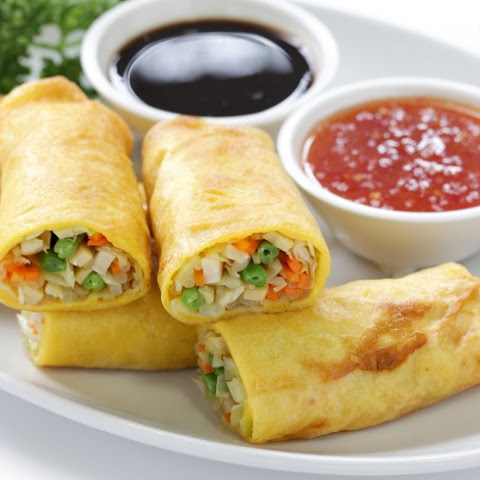 Pan-Fried Egg Roll Wrappers