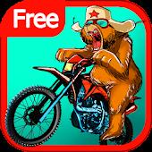 Russian Bear Bike Traffic Race