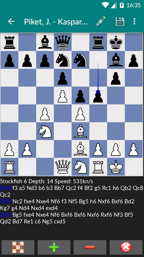 Perfect Chess Database Screenshot 3