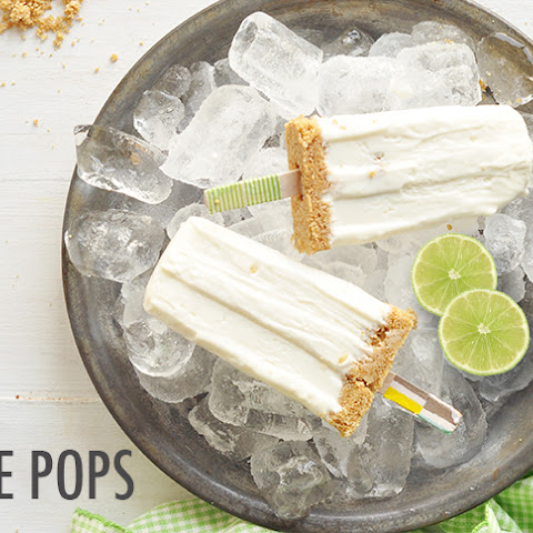 Key Lime Pie Cheesecake Pops