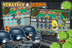 Screenshot of SWAT and Zombies