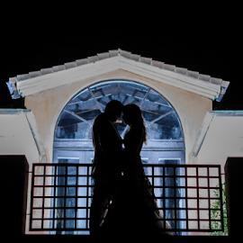 NIght Shoot by Lood Goosen (LWG Photo) - Wedding Bride & Groom ( wedding photography, wedding photographers, wedding day, weddings, wedding, brides, wedding photographer, bride and groom, bride, groom, bride groom )