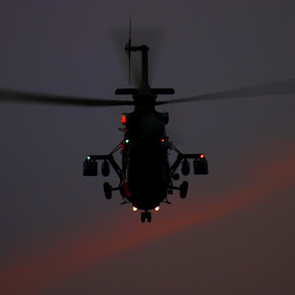 Night Hawk by Marcin Chmielecki - Transportation Helicopters