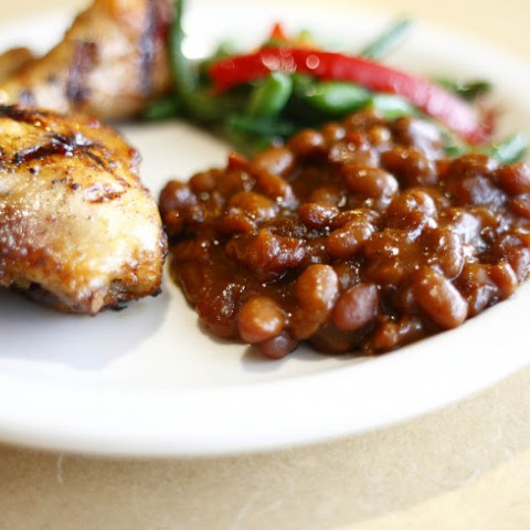 Keri's Hog-Apple Baked Beans