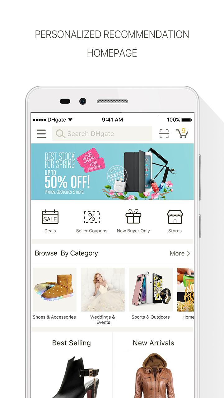 DHgate-Online Wholesale Stores Screenshot 0