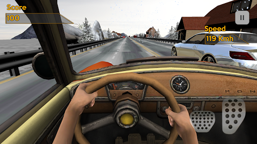 Racing in Car: Classic - screenshot