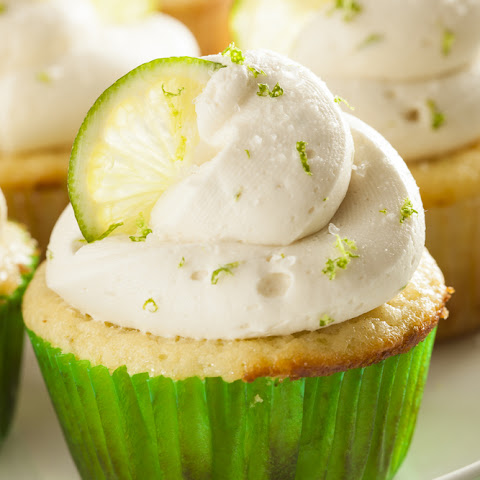 Flourless Key Lime Cupcakes In The Airfryer