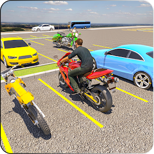 Download Bike Parking Real Adventure : motorcycle racing 3D For PC Windows and Mac