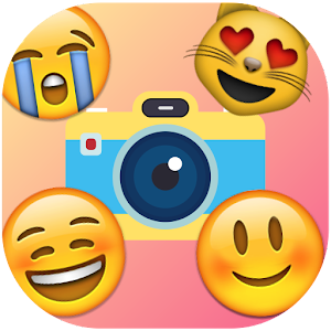 Emoji Photo Sticker Maker Pro Icon