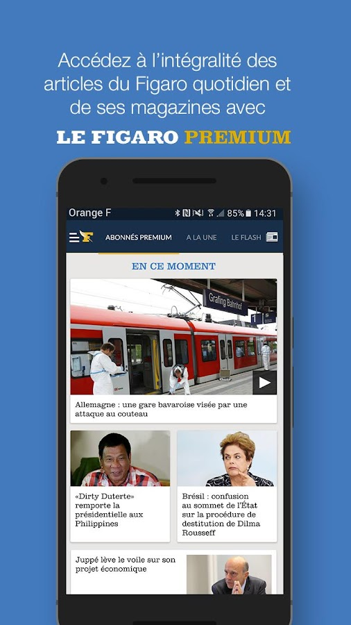 Le Figaro.fr: Actu en direct Screenshot 4