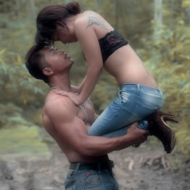 gav by Andi Pambudi - People Couples ( love, romantic, forest, couple, men, women )
