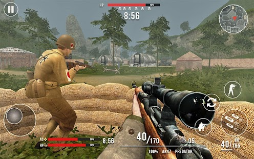 American vs Japanese Sniper - Hunter Survival FPS