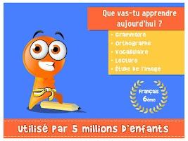 Screenshot of iTooch Français 6ème