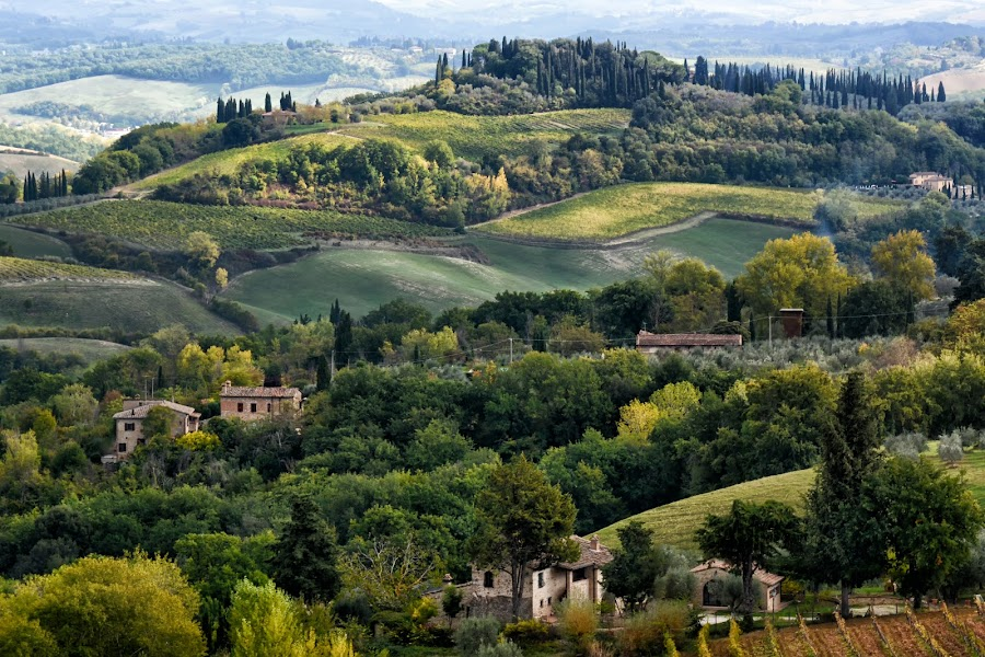 Tuscany by Nadya Slavova - Landscapes Travel ( tuscany, view, travel photography )