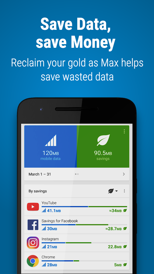 Opera Max - Data manager Screenshot 6