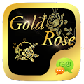 (FREE) GO SMS GOLD ROSE THEME