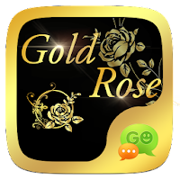 (FREE) GO SMS GOLD ROSE THEME For PC (Windows And Mac)