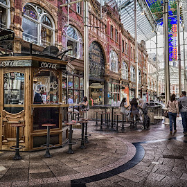 Leeds Victoria Quarter  by Adam Lang - City,  Street & Park  Markets & Shops ( shopping mall, leeds, victoria quarter shopping mall, leeds victoria quarter, hdr )