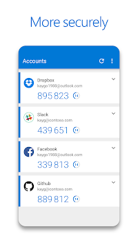 Microsoft Authenticator APK screenshot thumbnail 3