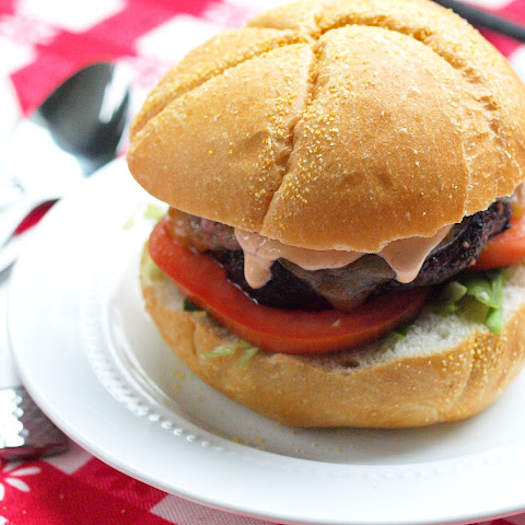 Portobello Mushroom Burger with Chipotle Mayo
