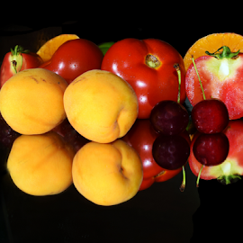 fruits with vegetables by LADOCKi Elvira - Food & Drink Fruits & Vegetables ( fruits,  )