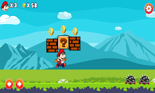 Mario adventure - screenshot