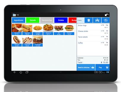 Restaurant Point of sale POS - screenshot
