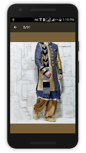 Sherwani Kurta  Designs 2016 - screenshot