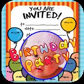 Free Birthday Invitation with Photo APK for Windows 8