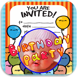 App Birthday Invitation With Photo APK For Windows Phone Android - App for birthday invitation