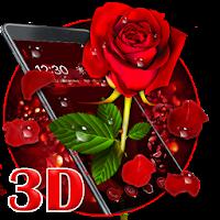 3D valentine love rose theme For PC / Windows / MAC