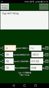 weight conversion calculator