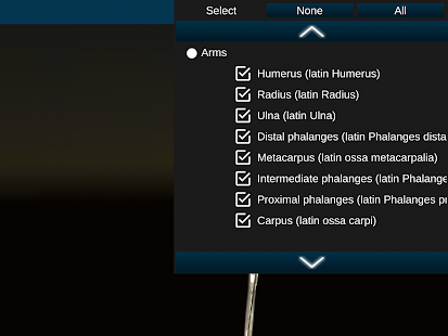 App Osseous System in 3D (Anatomy) APK for Windows Phone