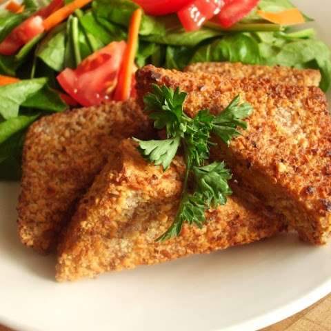 Almond Crusted Tofu