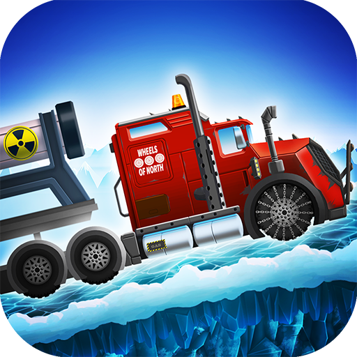 Ice Road Truck Driving Race (game)