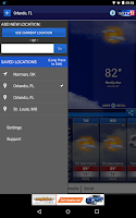 Screenshot of WFTV Channel 9 Weather