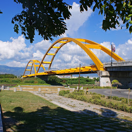 Ponulele Bridge by Mulawardi Sutanto - Buildings & Architecture Bridges & Suspended Structures ( ponulele, indonesia, palu, bridge, travel )