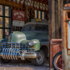 Techatticup, NV by Jose Matutina - Transportation Automobiles ( car, mining, desert, vintage, automobile, vehicle, ghost town, techatticup, sony a7ii, history, clark county, nevada, sel85f14gm, nelson, historical, gold, trip, abandoned, antiques )