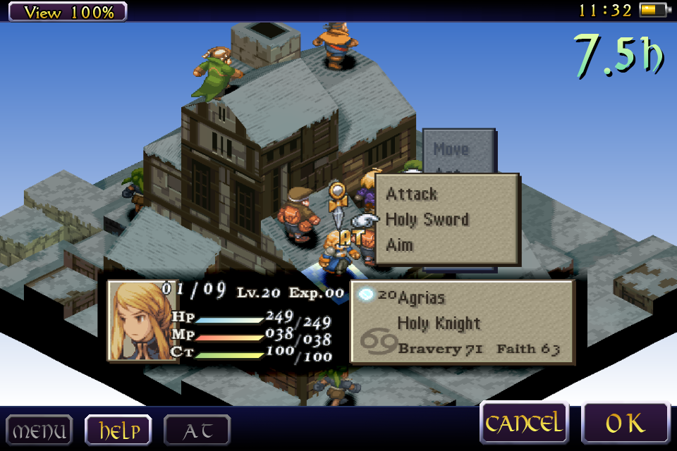 FINAL FANTASY TACTICS : WotL Screenshot 4