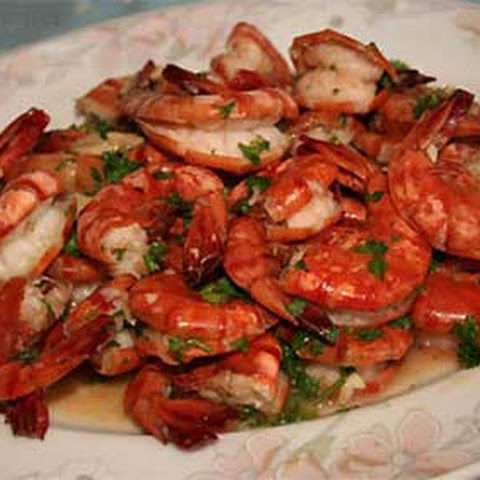 Sauteed Prawns with Lemon-Garlic Butter