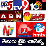 Telugu Live News Channels Icon