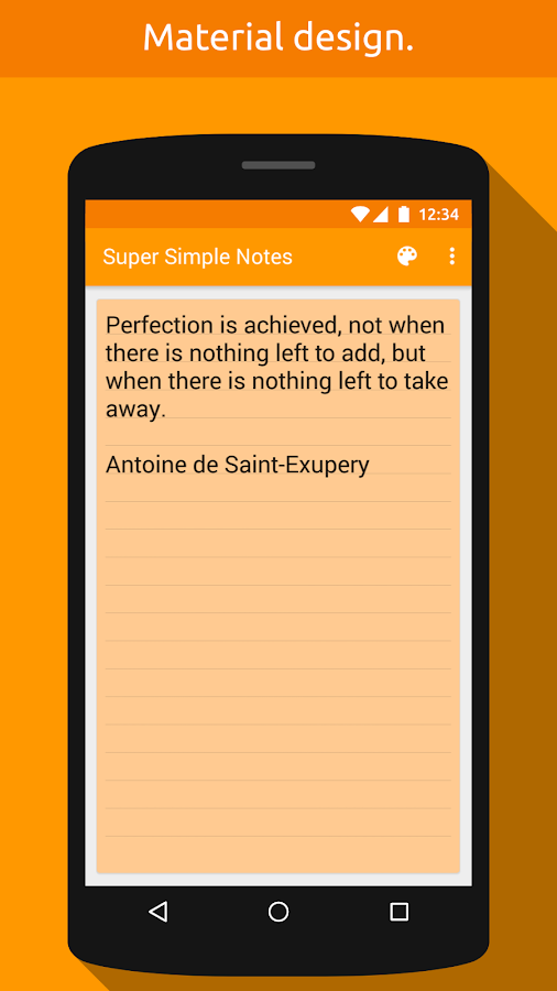 Super Simple Notes Screenshot 1