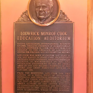 Native Louisianan, international business leader, tireless champion of humanitarian causes, Lodwrick M. Cook has contributed greatly to the creation of Louisiana's center for political and ...