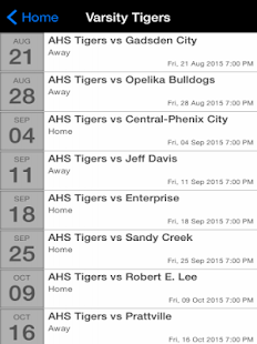 Auburn High Tiger Football - screenshot
