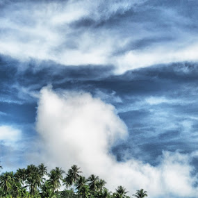 gelorah by Luther Lumentah - Landscapes Cloud Formations ( clouds, hill, sky, bukit, awan )