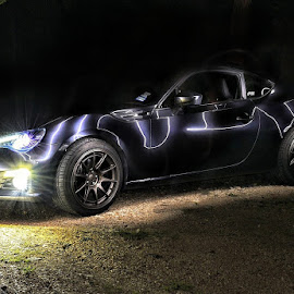 BRZ lightning by Brian Hood - Transportation Automobiles