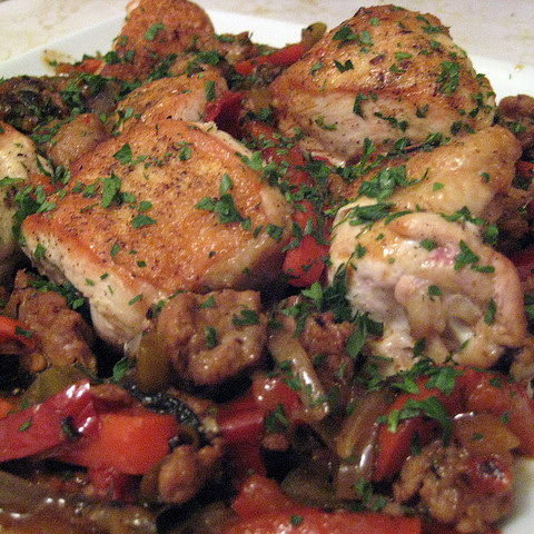 Italian Chicken Scarpariello
