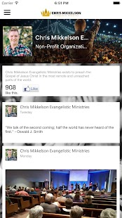 Chris Mikkelson Ministries - screenshot